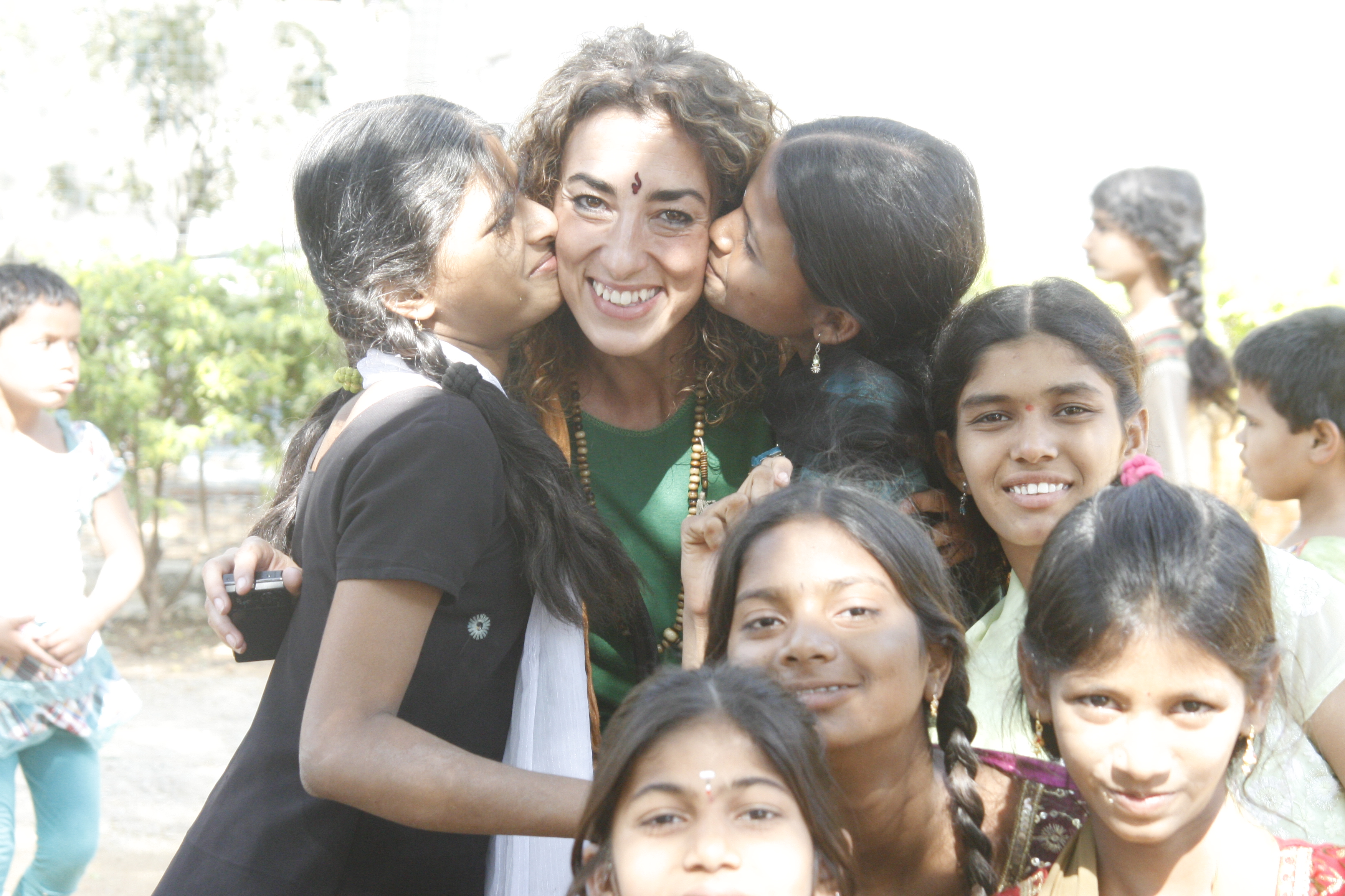 Niñas indias Fundación Vicente Ferrer