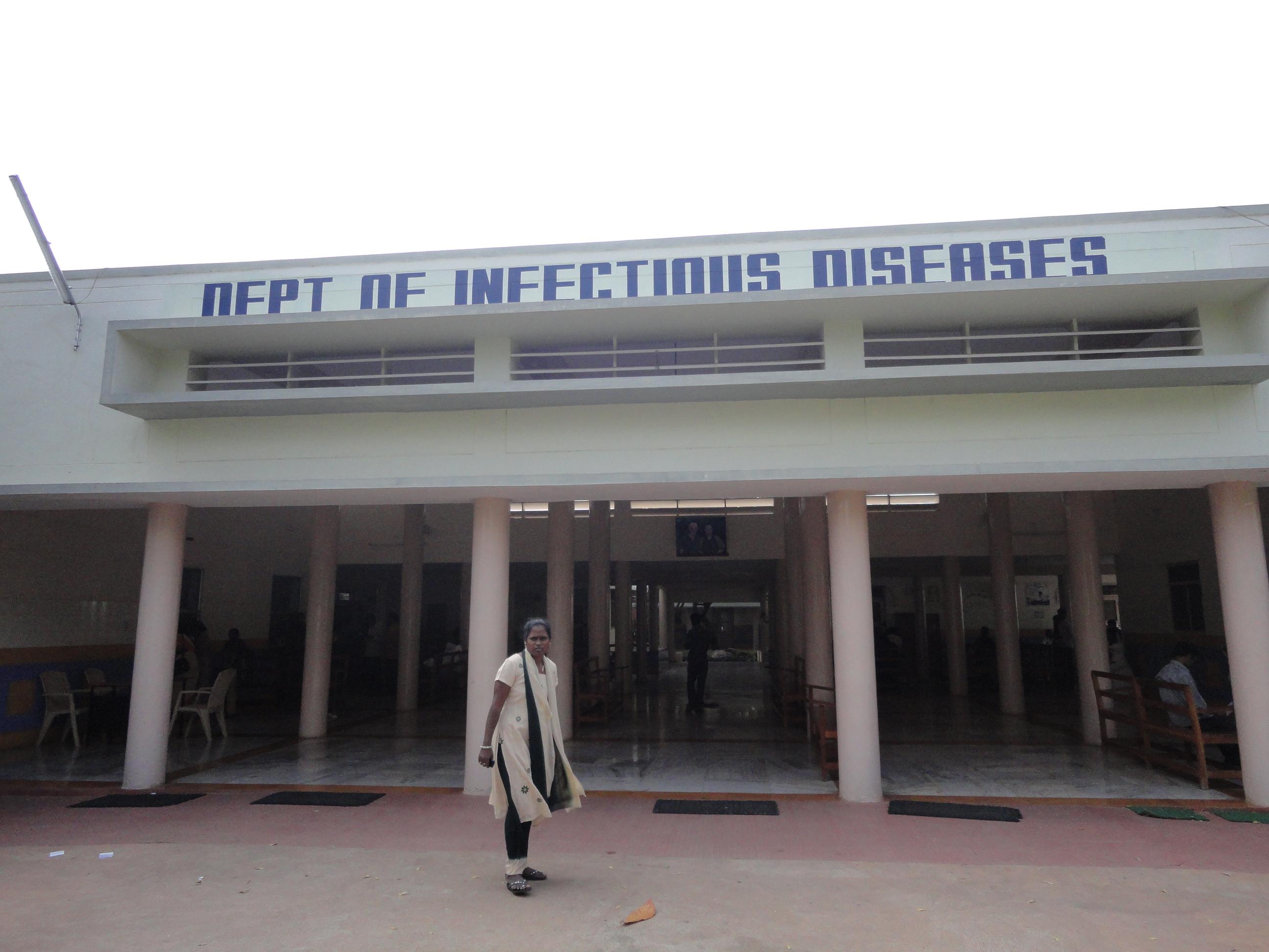Hospital enfermedades infecciosas en Inda Fundación Vicente Ferrer