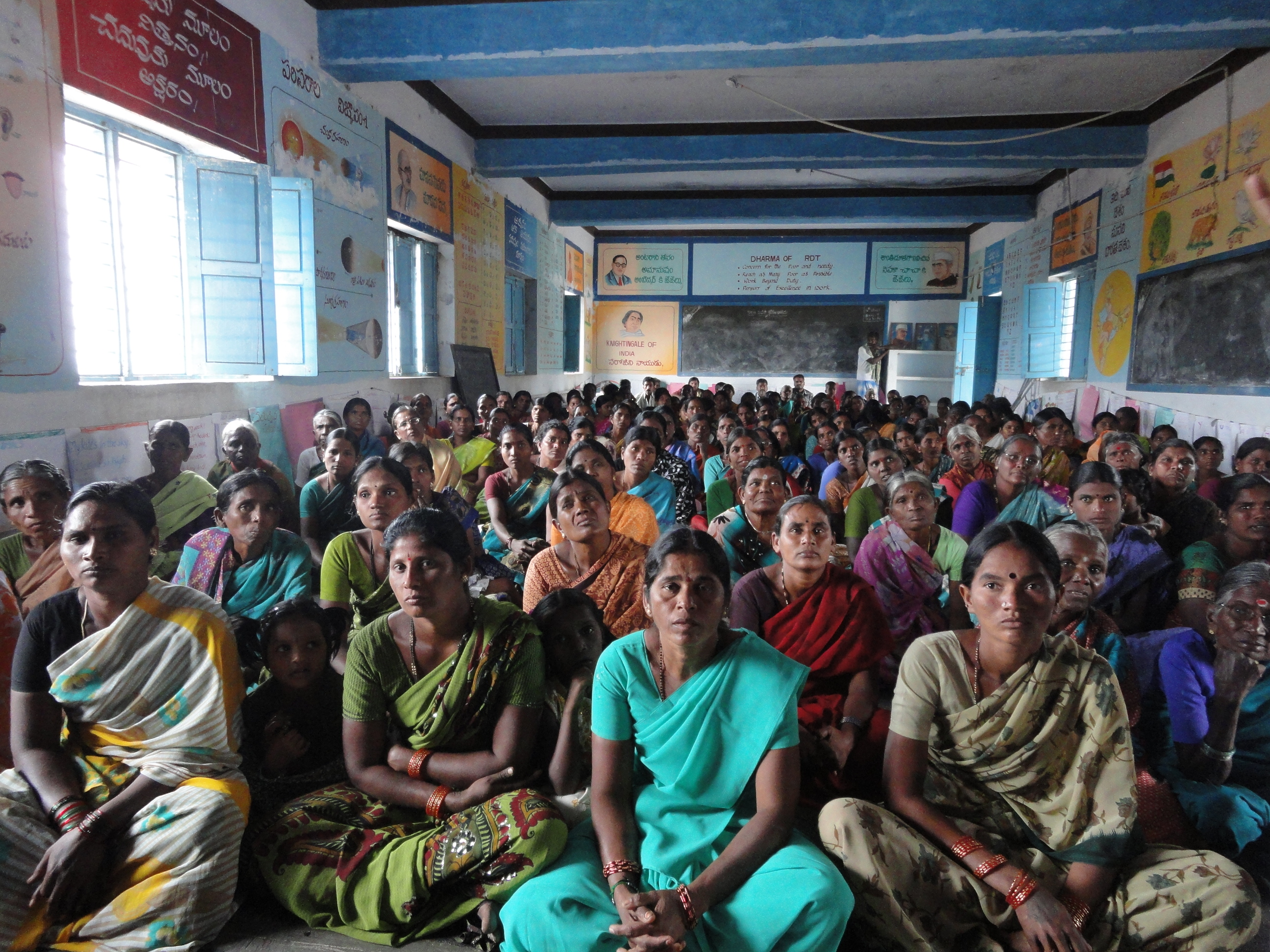 Mujeres India Fundación Vicente Ferrer
