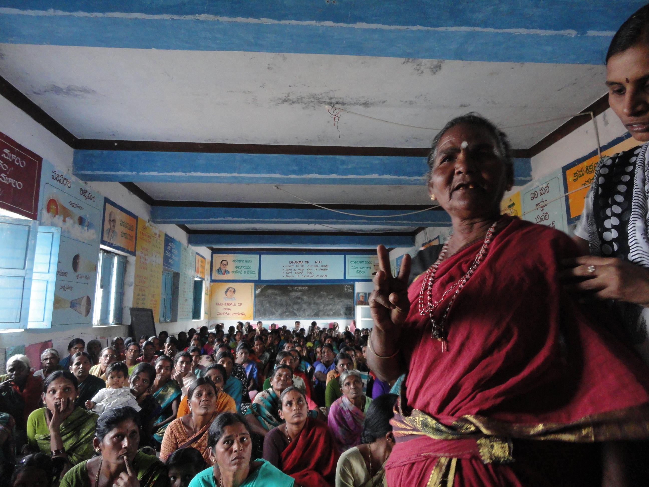 Mujeres India, Fundación Vicente Ferrer