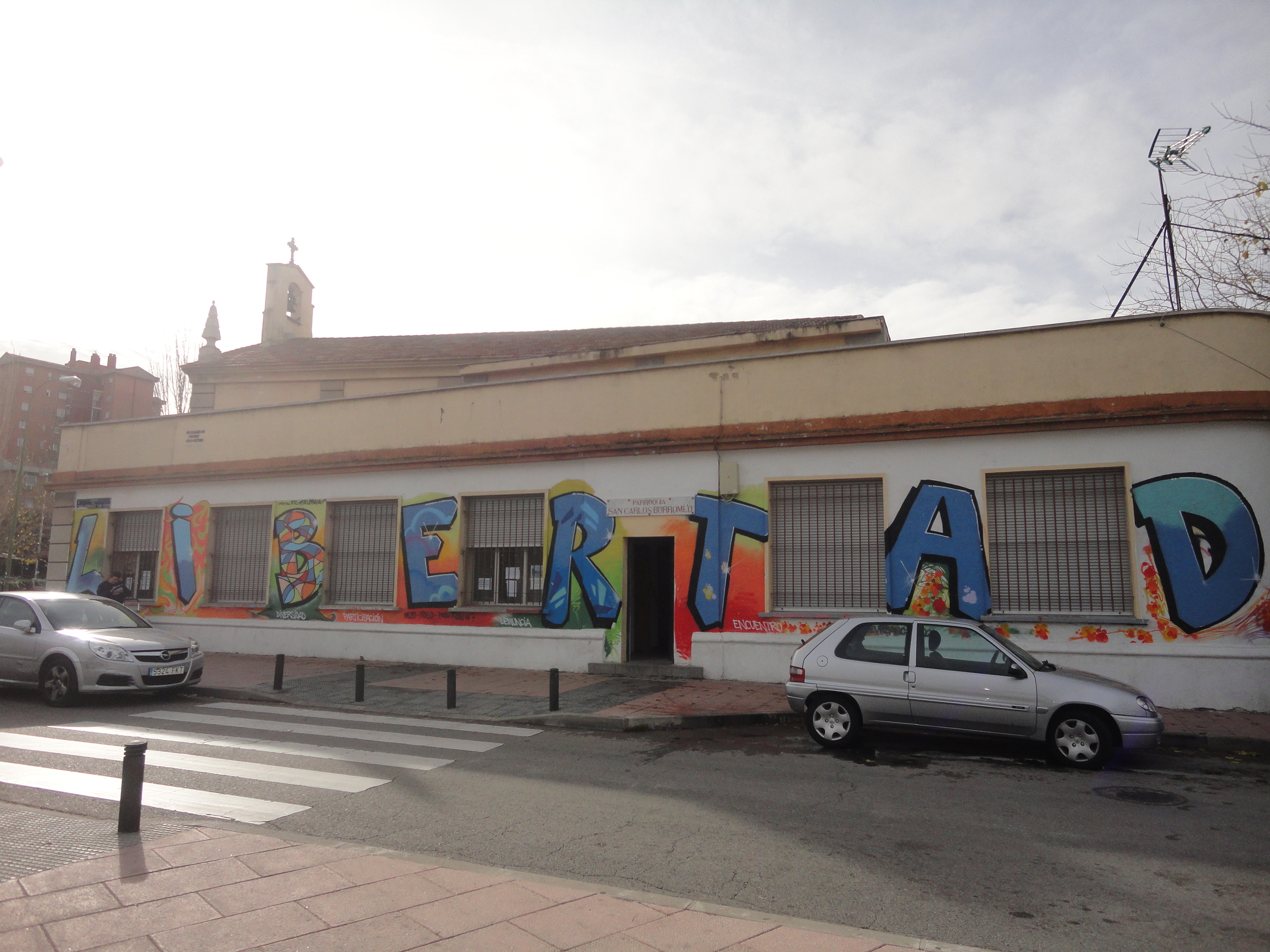 Grafiti San Carlos Borromeo