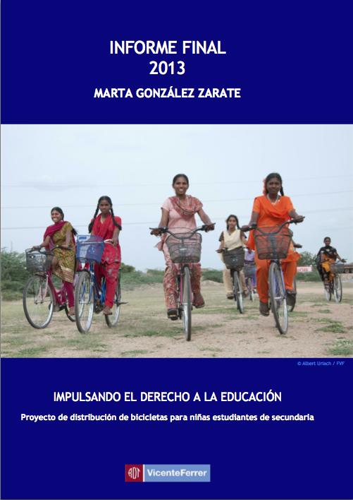 bicicletas Fundación Vicente Ferrer