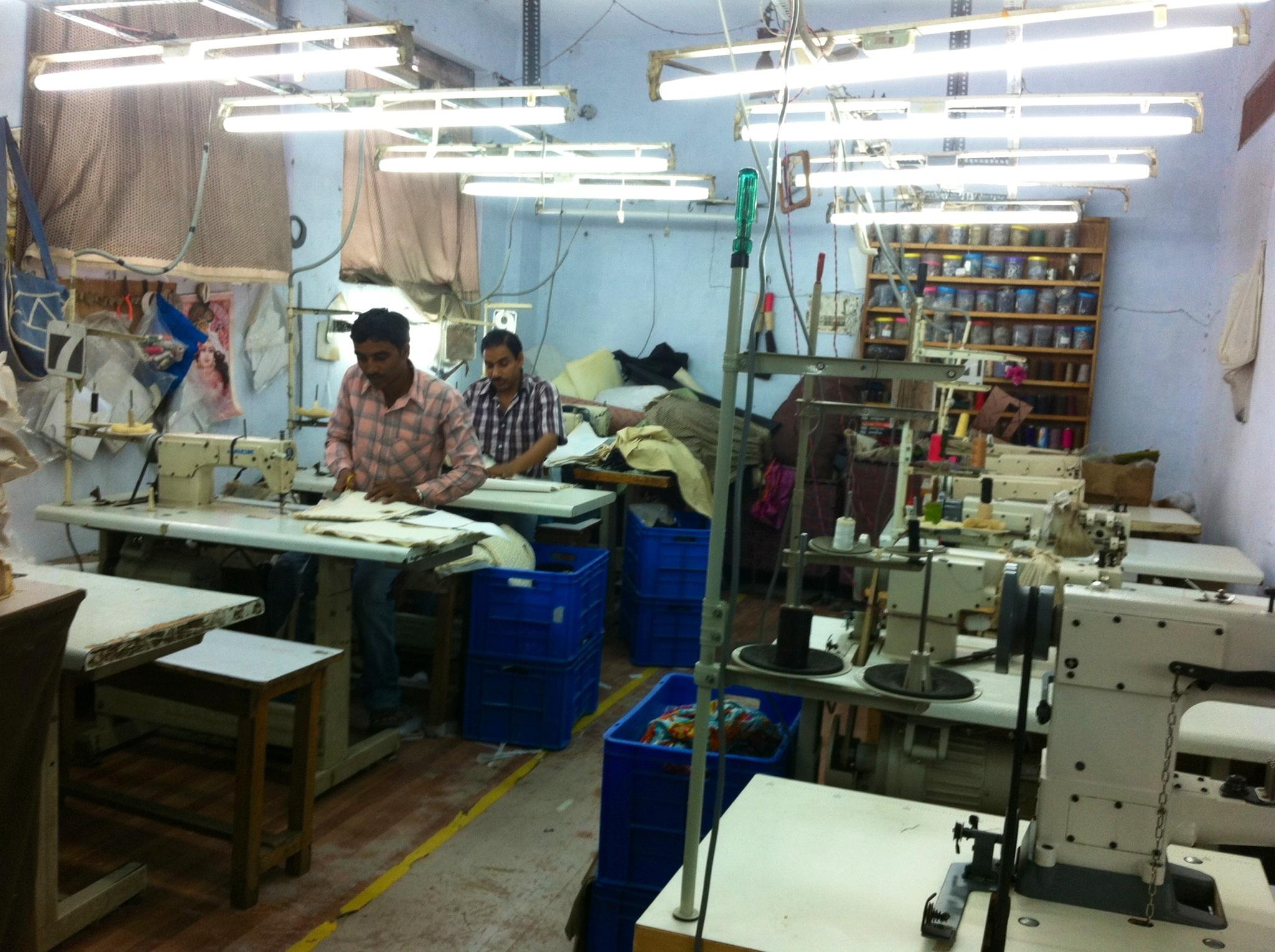fabrica de bolsos en India