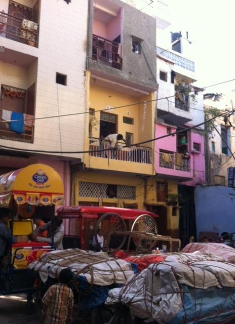 Calle de Delhi