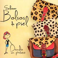 bolsos de animal Print piel, colección Pai de Dando un Paseo