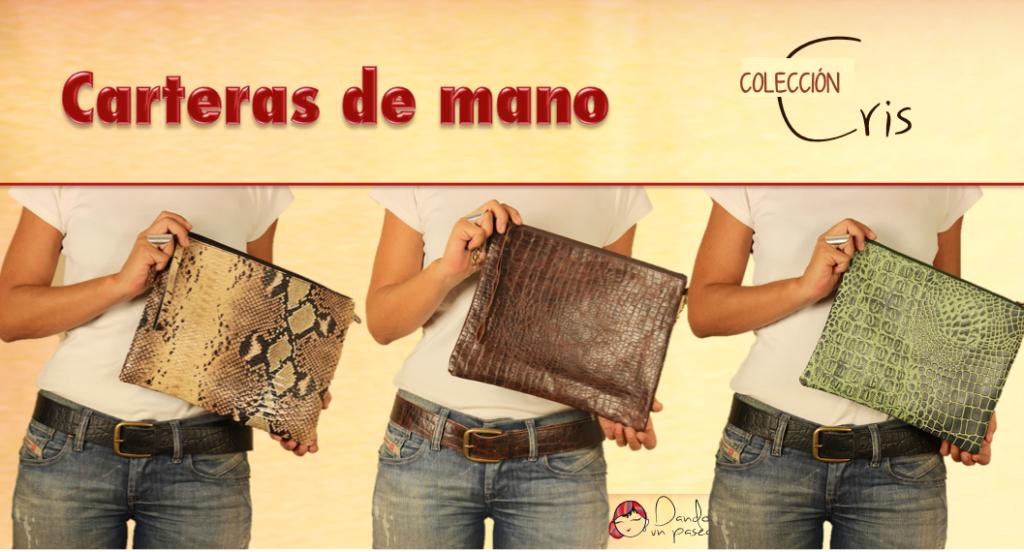 Bolsos animal print y carteras de mano