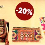 Bolsos bordados, la tendencia étnica esta de moda