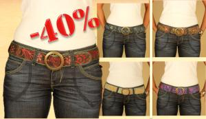 Complementos de moda: cinturones de piel de Dando un Paseo