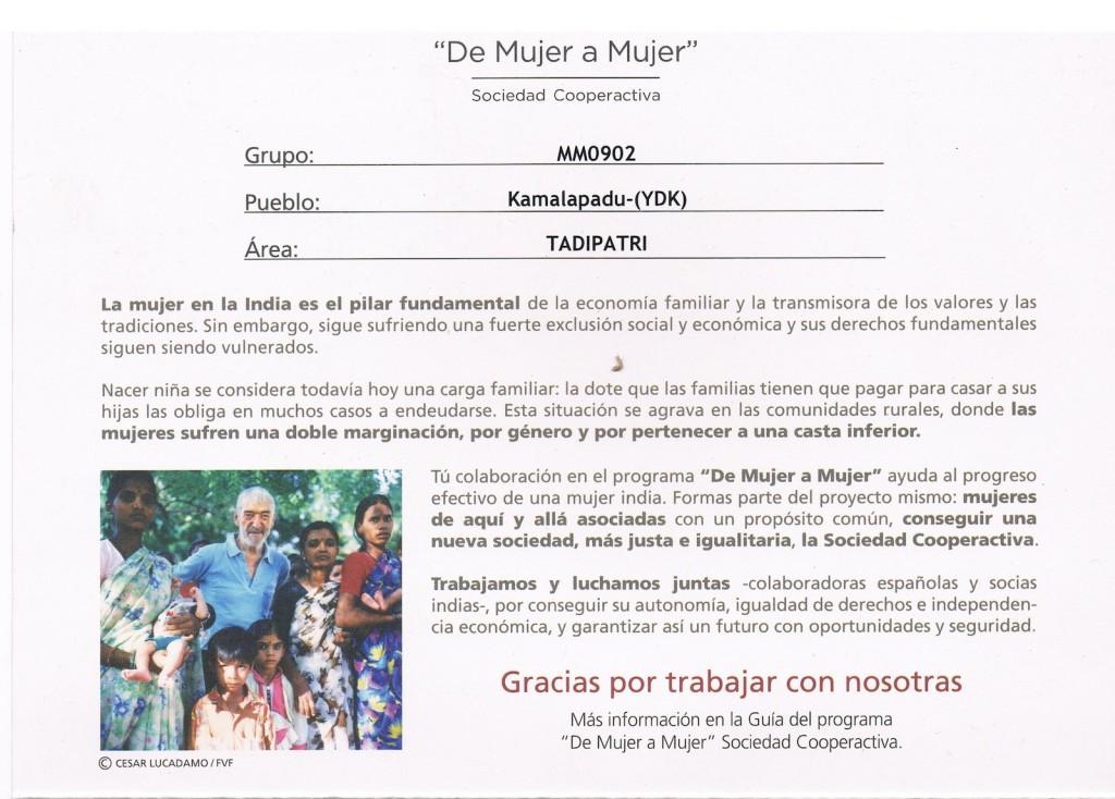 Fundación Vicente Ferrer. Dando un Paseo
