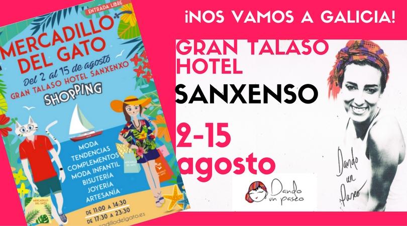 Mercadillo en hotel Talaso en Sanxenxo Dando un Paseo